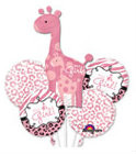 Baby Girl Giraffe (Pack of 5)