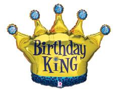 "36"" Birthday King"