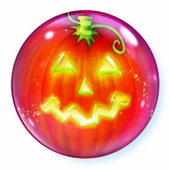 "22"" Pumpkin Bubble"