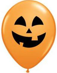 """16"""" Orange Jolly Jack Latex Balloon"""