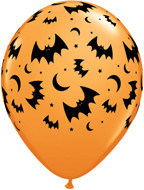 "11"" Halloween Bats Latex"