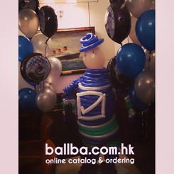 Ice Hockey Player Twist Balloon @ Cipriani Hong Kong