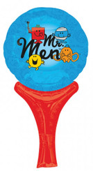 "12"" Mr. Men Air Stick (Air-filled only - CANT FLOAT)"