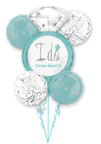 Tiffany Blue Wedding Bouquet (A SET OF 5)