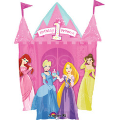 "35"" Princess 1st Birthday Castle"