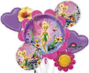 Tinker Bell Birthday Bouquet (Set of 5)