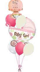 Baby Girl Car Bouquet