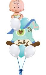 Baby Horse Boy Bouquet
