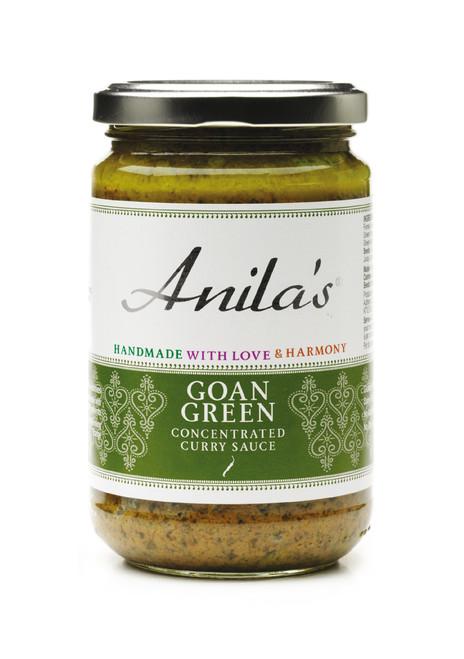 Goan Green Curry Sauce