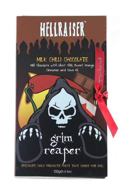 Hell Raiser Milk Chilli Chocolate Bar