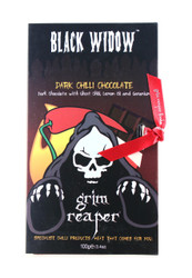 Black Widow Dark Chilli Chocolate Bar