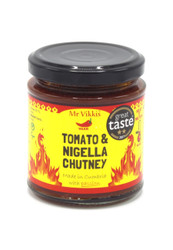 Tomato and Nigella Chutney by Mr Vikkis