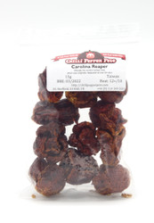 Dried Whole Carolina Reaper Chillies by Chilli Pepper Pete
