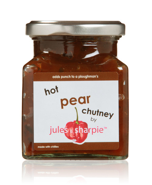 Jules and Sharpie - Hot Pear Chutney