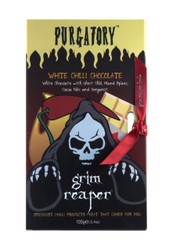Purgatory White Chilli Chocolate Bar