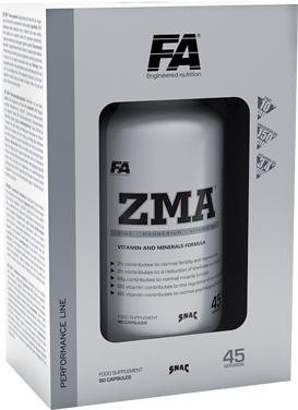 FA ENGINEERED NUTRITION ZMA Zinc, Magnesium and Vitamin B6
