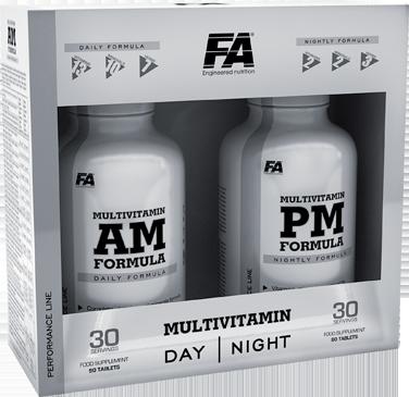 FA ENGINEERED NUTRITION MULTIVITAMIN AM PM FORMULA