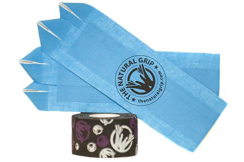 """The Natural Grip Combo """"Grip+ Goat Tape Roll"""" Light Blue  - www.BattleBoxUk.com"""