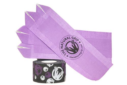 "The Natural Grip Combo ""Grip+ Goat Tape Roll"" Purple  - www.BattleBoxUk.com"