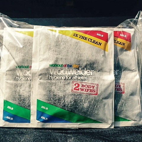 W.O.D WELDER CLEANSING WIPES WOD - www.BattleBoxUk.com