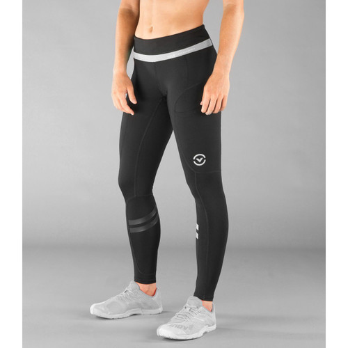 Women's LUNAR Running Tech Pant Black Grey (EC019)