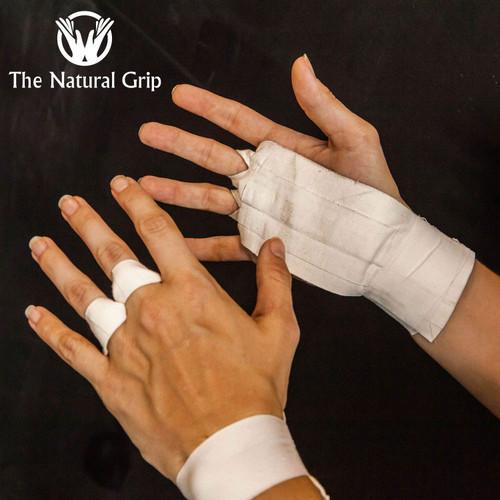 "The Natural Grip Combo ""Grip+ Goat Tape Roll"" CrossFit - www.BattleBoxUk.com"