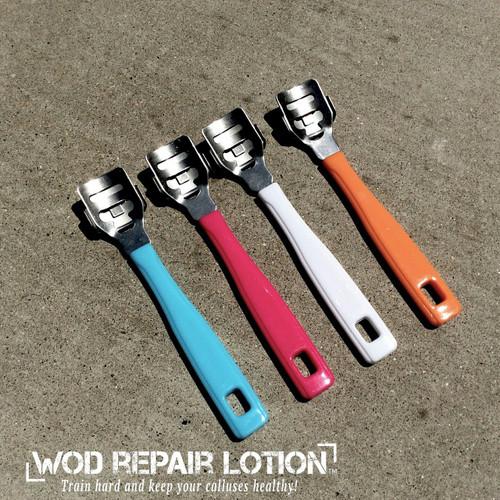 WOD Repair Lotion -Callus Shaver