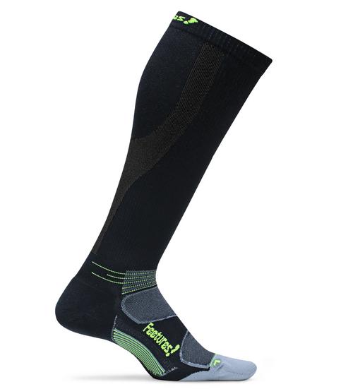 Features Graduated Compression Cushion Knee High Socks Black