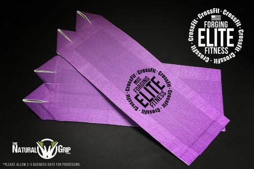 "Forging Elite Fitness Natural Grip Combo ""Grip+ Goat Tape Roll"" Purple"