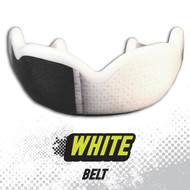 DAMAGE CONTROL WHITE BELT HIGH IMPACT MOUTHGUARD www.battleboxuk.com
