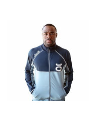 Rashad Evans Warm-Up Jacket (Silverlake/Navy)