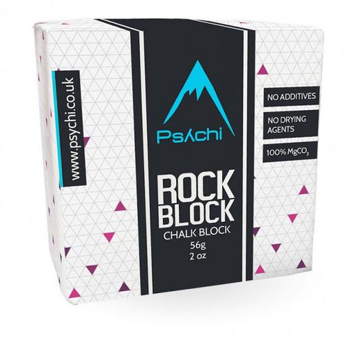 PSYCHI ROCK BLOCK - CHALK BLOCK - 56G,100% MgCO3 www.battleboxuk.com