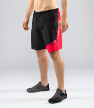 Virus Men's Stay Cool Origin Active Shorts (ST3) - Black/Red www.battleboxuk.com