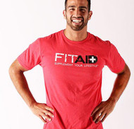 FITAID RED BI-BLEND T-SHIRT www.battleboxuk.com