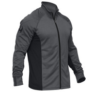 Hylete Apex Ribbed Collar Jacket (black/neon green) www.battleboxuk.com