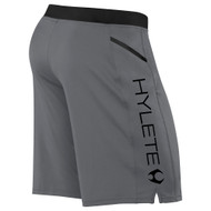 HYLETE Vertex Zip Pocket Short (gun metal/black) www.battleboxuk.com