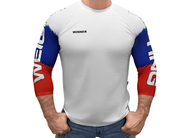 Klokov WINNER Weightlifting White Longsleeve www.battleboxuk.com