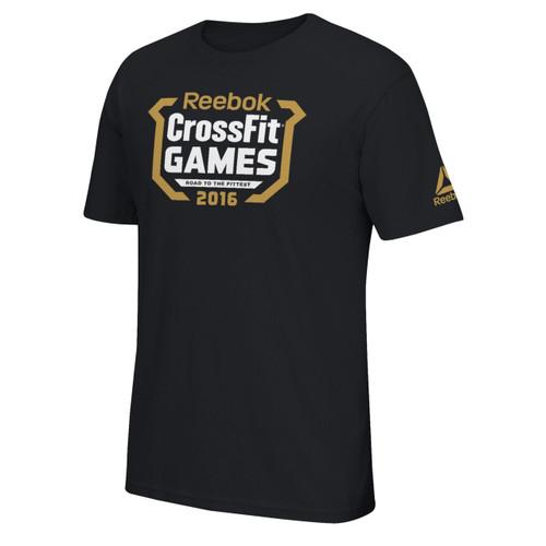 2016 REEBOK CROSSFIT GAMES REGIONALS TEE BLACK&GOLD WWW.BATTLEBOXUK.COM