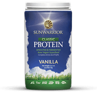 "SUNWARRIOR ""CLASSIC "" RAW BROWN RICE PROTEIN 500/1000g www.battleboxuk.com"