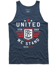 "ROKFIT MEN TANK ""UNITED WE STAND"" WWW.BATTLEBOXUK.COM"