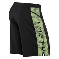 Hylete Vertex Zip Pocket Short black/green camo www.battleboxuk.com