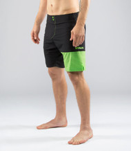 VIRUS MEN'S HYDRO PERFORMANCE SHORTS (ST4) BK/GR  WWW.BATTLEBOXUK.COM