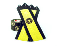 "Goat Tape The Natural Grip Combo ""Grip+ Goat Tape Roll"" Black and Yellow  - www.BattleBoxUk.com"