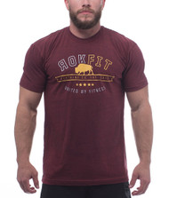 RokFit The Plains Bison T-Shirt www.battleboxuk.com