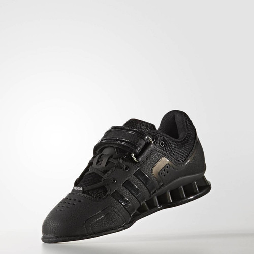 Adidas AdiPower Weightlifitng Shoes Black (BA7923) - www.BattleBoxUk.com