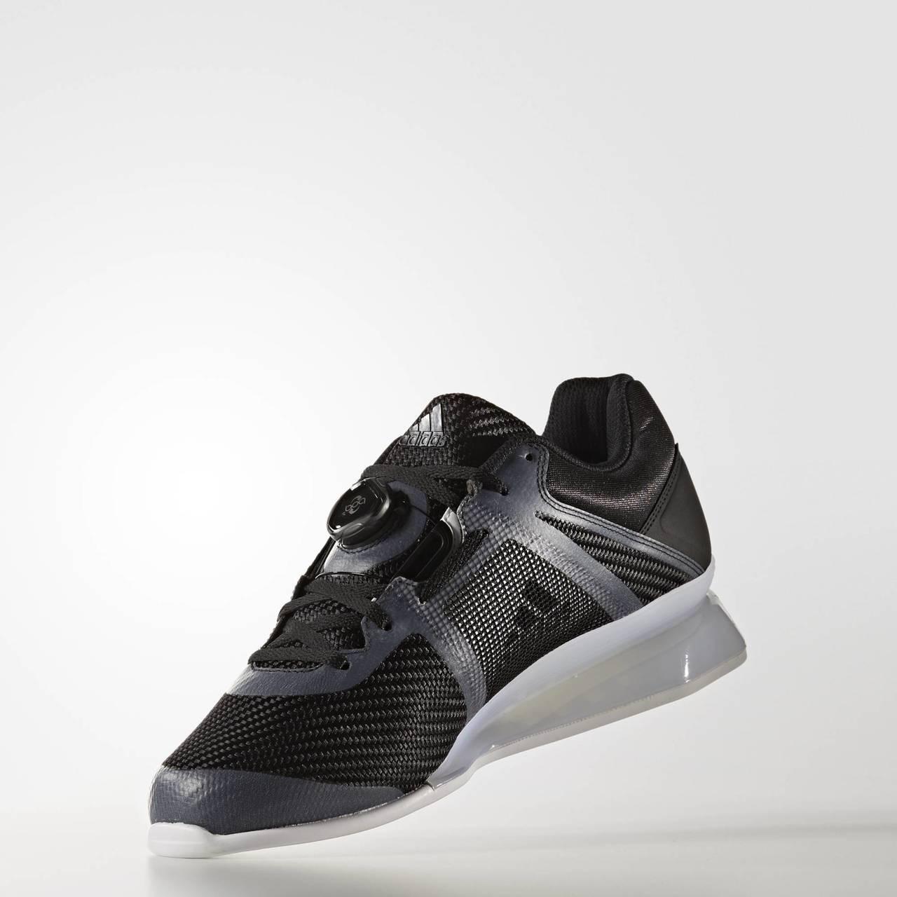 Black Men's adidas Leistung 16 ll Weightlifting Shoes