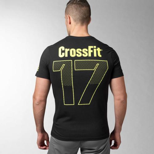 Reebok crossfit open 17 tee battle box uk for Reebok crossfit t shirts