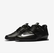 Nike Romaleos 3 Men's Weightlifting Shoe Black/White Style: 852933-002 www.battleboxuk.com