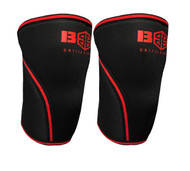 BattleBox UK™ Knee Caps Red Edition 7mm www.battleboxuk.com