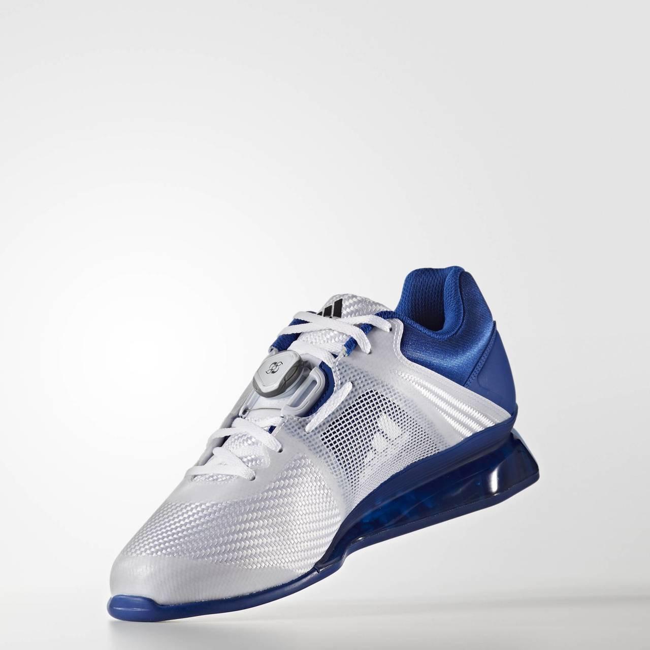 sports shoes bcc70 ae333 Adidas Leistung 16 II Royal Blue Weightlifting Shoe (BA9172)  www.battleboxuk.com